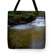 Small Falls Pool Swirl I Tote Bag