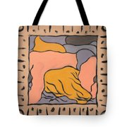 Small Framed Bedscape One Am Tote Bag