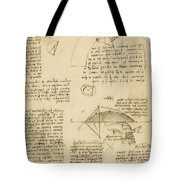 Small Front View Of Church Squaring Of Curved Surfaces Triangle Elmain Or Falcata Tote Bag