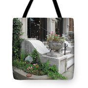 Small Garden In Big City Tote Bag
