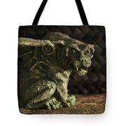 Small Gargoyle Or Grotesque Tote Bag