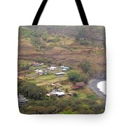 Small North Maui Town Tote Bag