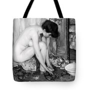 Small Nude Painting By Albert Worcester C. 1910 Tote Bag