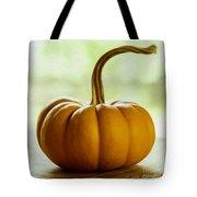 Small Orange Pumpkin Tote Bag