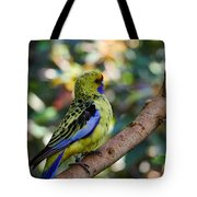 Small Parrot Tote Bag
