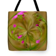 Small Pink Buds Tote Bag