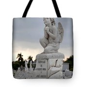 Small Praying Angel Tote Bag