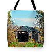 Small Private Country Bridge Tote Bag