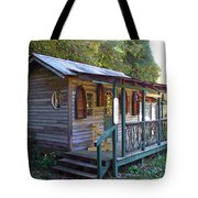 Small Shop In Horseshoe Tote Bag