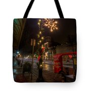 Small Town Christmas Ohio Tote Bag