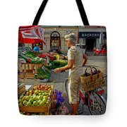 Small Town Market Tote Bag