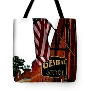 Small Town Patriotism Tote Bag