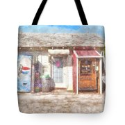 Small Town Pit Stop  Tote Bag