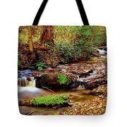 Small Waterfall And Stream 2 Tote Bag