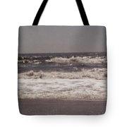 Small Waves Tote Bag