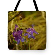 Small Wild Blossoms Tote Bag