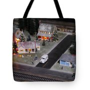 Small World - A Smalltown Holiday Tote Bag
