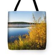 Smallfish Lake In Porcupine Hills Tote Bag