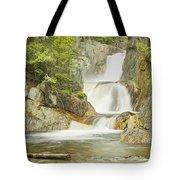 Smalls Falls In Western Maine Panorama Tote Bag
