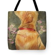 Smell The Roses Tote Bag by Debra Hall