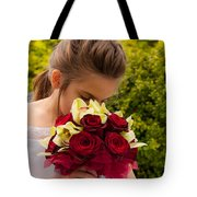 Smelling The Roses 2 Tote Bag