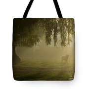 Smelly Goat In The Mist Tote Bag