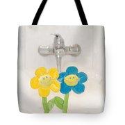 Smile Flower Tote Bag