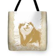 Smile II Tote Bag by Ann Powell