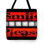 Smile Please Tote Bag
