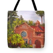 Smiley Library Tote Bag