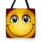 Smiley Sun Tote Bag