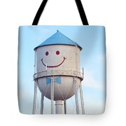 Smiley The Water Tower Tote Bag
