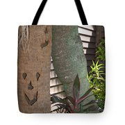 Smiley Tree Tote Bag