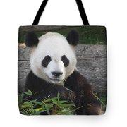 Smiling Giant Panda Tote Bag