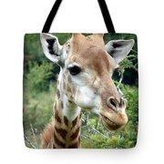 Smiling Giraffe Tote Bag
