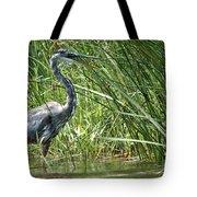 Smiling Heron Tote Bag