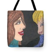 Smiling Princesses Tote Bag