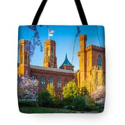 Smithsonian Castle Tote Bag by Inge Johnsson