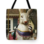 Smithville Carousel Rabbit Tote Bag