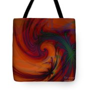 Smoke And Feathers Tote Bag