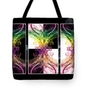 Smoke Art Triptych Tote Bag