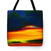 Smoke From The Distant Fire Tote Bag