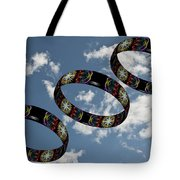 Smoke Rings In The Sky 1 Tote Bag