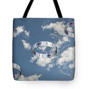 Smoke Rings In The Sky 2 Tote Bag