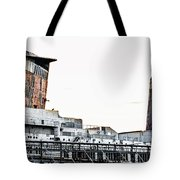 Smoke Stacks - Ss United States - Philadelphia Tote Bag