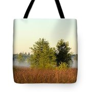 Smokey Autumn Prairie Tote Bag