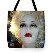 Smokey Eyed Blonde Tote Bag