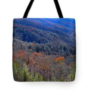 Smokey Mountain Pass Tote Bag