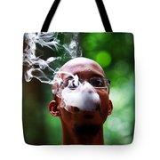 Smokin Puffs Tote Bag