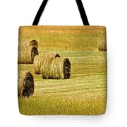 Smoky Mountain Hay Tote Bag by Frozen in Time Fine Art Photography